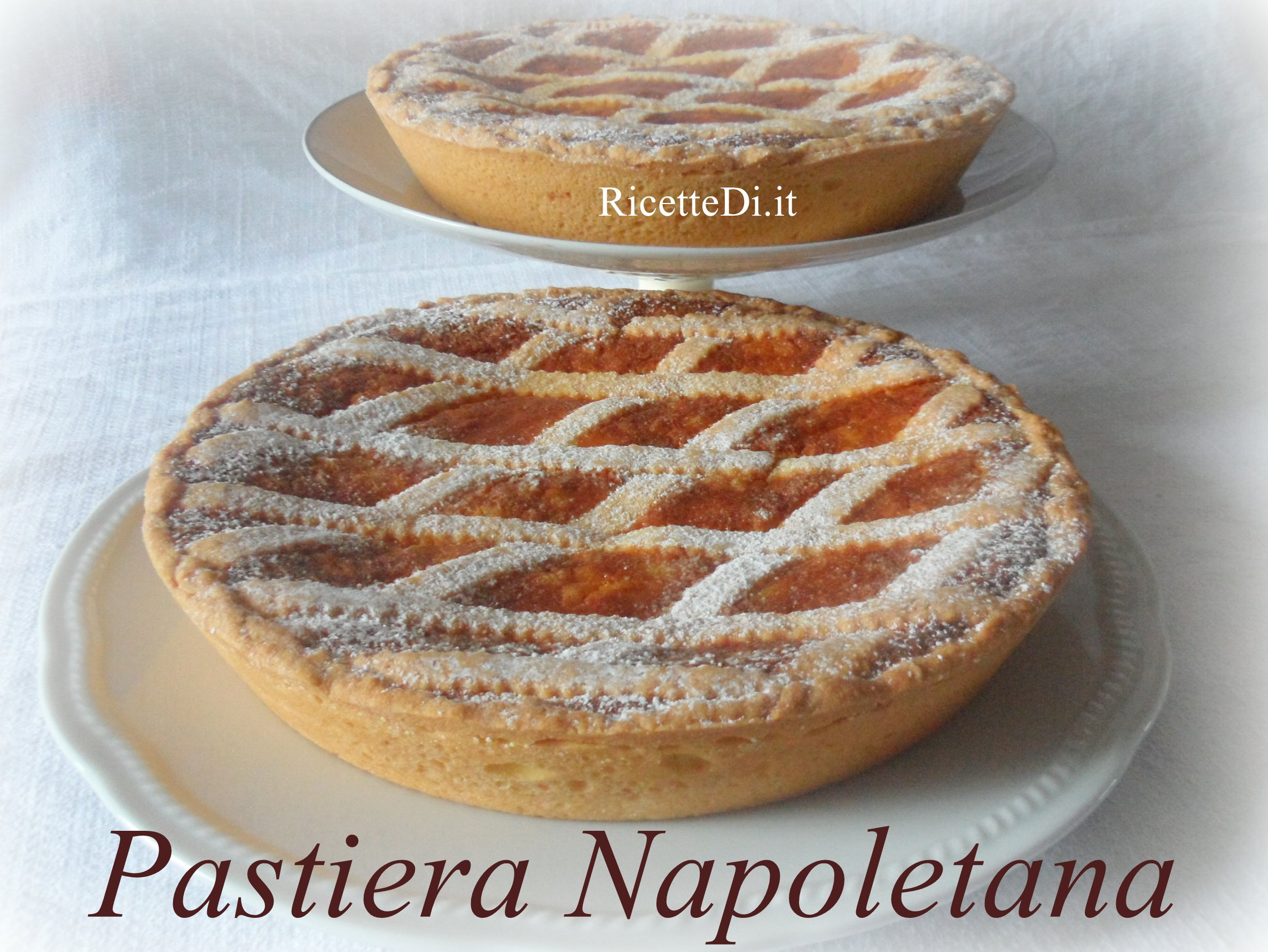 Pastiera napoletana - Ricette cucina napoletana ...