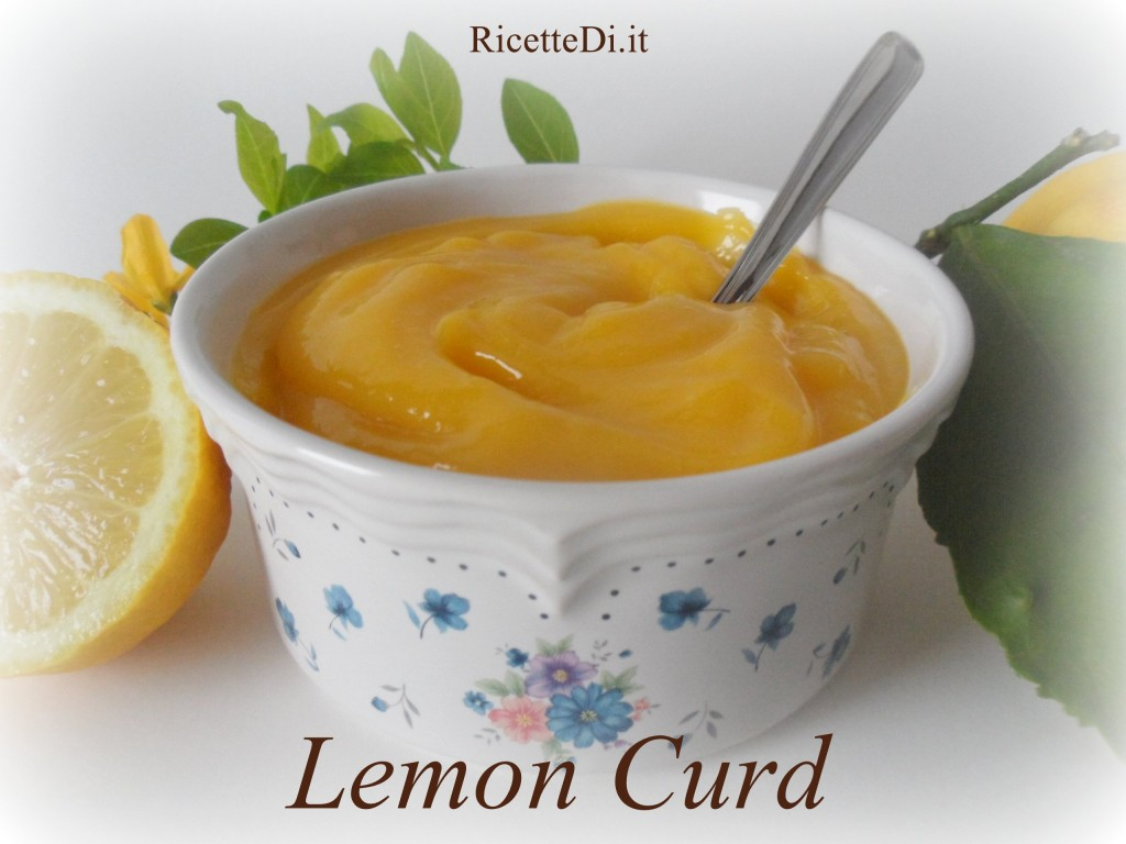 Lemon Curd - Ricettedi.it