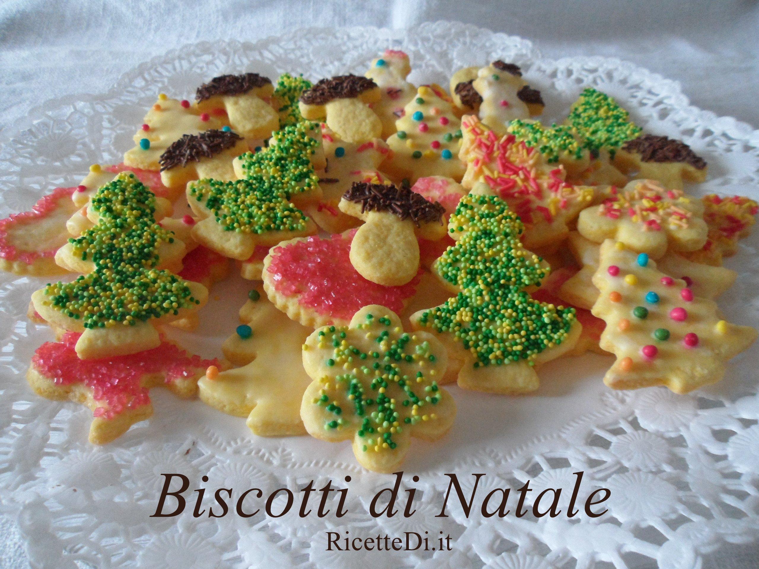 Biscotti di natale - Decorazioni natalizie per dolci ...