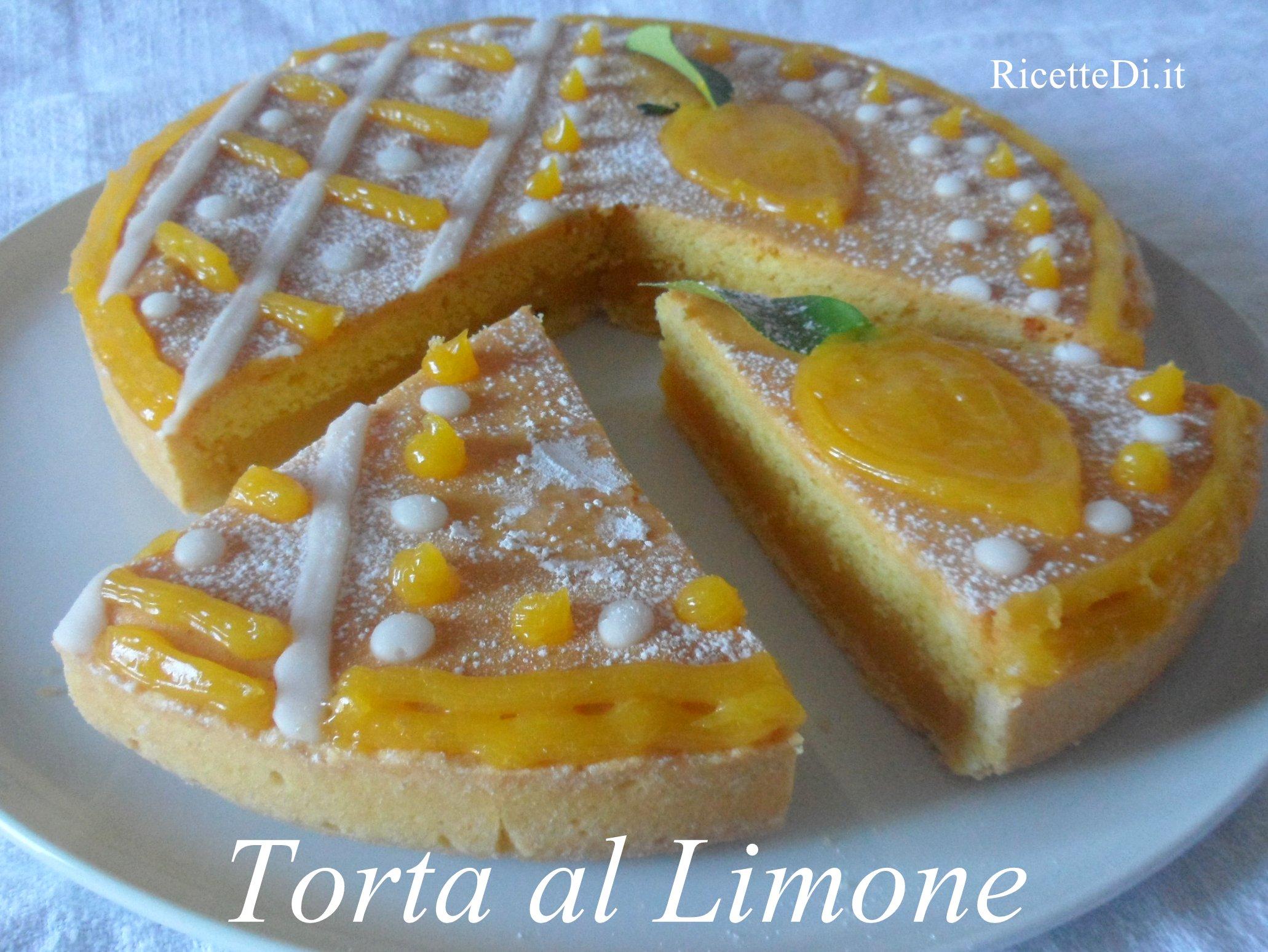 Ricette di torte con crema al limone