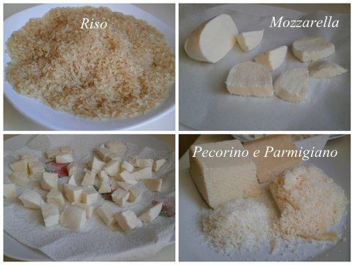Arancini al forno con prosciutto e mozzarella - Ricettedi.it