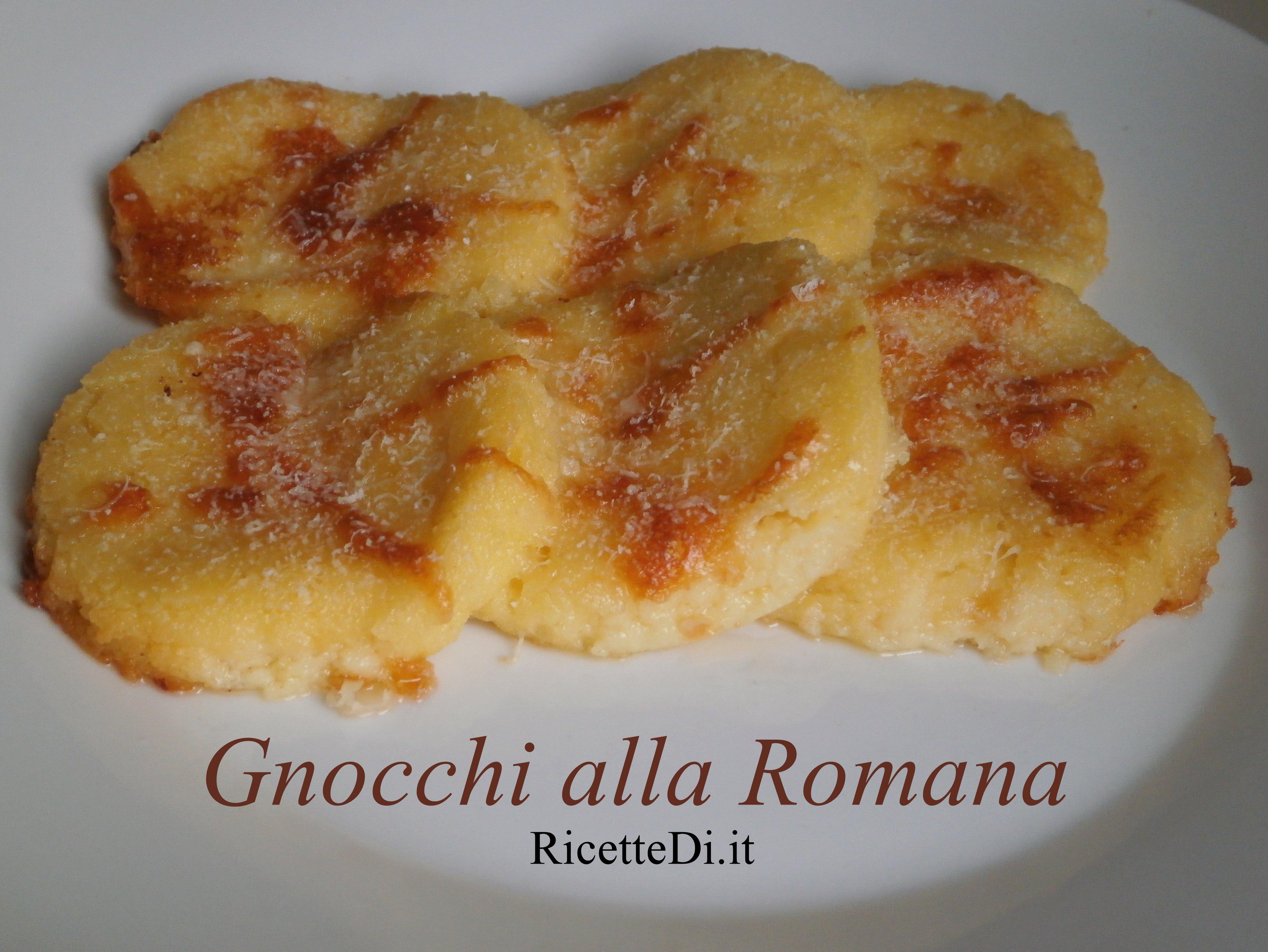 Gnocchi Alla Romana Recipe — Dishmaps