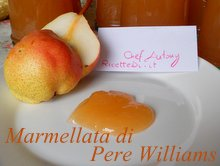 marmellata di pere williams